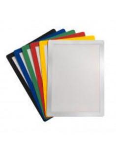 Buzunar magnetic pentru documente A4, cu rama color, 2 buc/set