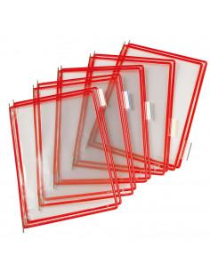 Buzunare prezentare pentru display, A4, (10 buc/set), rama