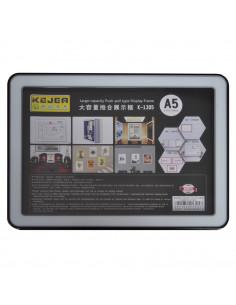 Display nume din plastic, 210 x 148mm, KEJEA - negru