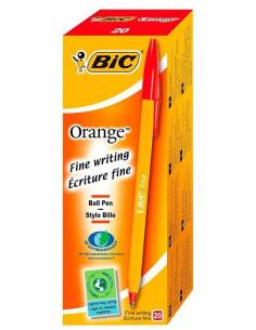 Pix BIC Orange Fine 0.3 mm 20 buc/cutie Rosu