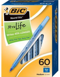 Pix BIC Round Stic 0.4 mm 60 buc/cutie Albastru