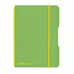 Caiet Herlitz My.Book Flex A6 40F Dictando Verde Deschis