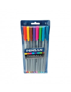 Pix Pensan Triball 1.0 mm Color Set 8