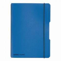 Caiet Herlitz My.Book Flex A4 40F Patratele Albastru Dechis