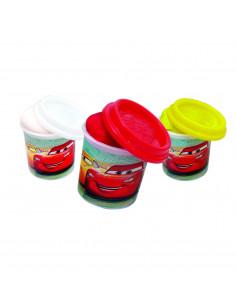 SET 6 BORCANASE CU PLASTILINA CARS