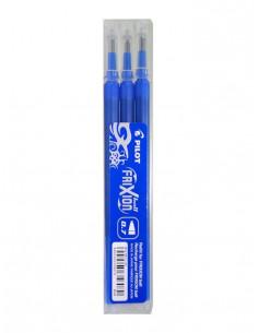 Rezerva roller Pilot Frixion Ball, 0.7 mm, albastru, 3