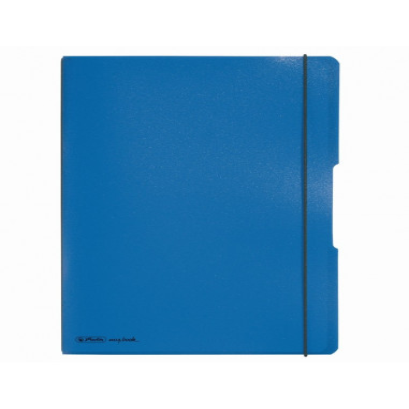Caiet Herlitz My.Book Flex A4 2X40F Dictando+Patratele Albastru