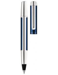 Roller Pura R40 Accesorii Otel Inoxidabilcorp Aluminiu/Albastru