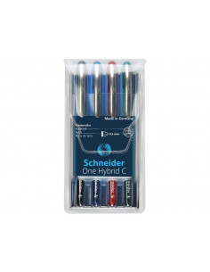 Set Roller Schneider One Hybrid C 05 0.5 mm 4 Culori