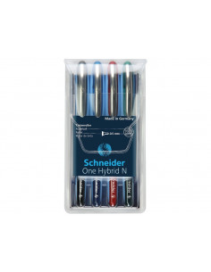 Set Roller Schneider One Hybrid N 05 0.5 mm 4 Culori