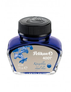 Cerneala Pelikan 4001 Borcan 30 ml - Albastru Royal