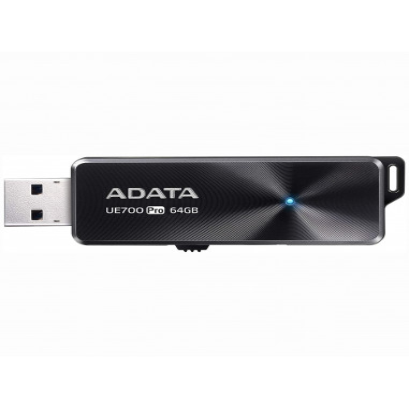 MEMORIE USB 3.2 ADATA 64 GB, retractabila, carcasa aluminiu