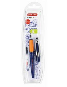Stilou My Pen L Albastru Inchis/Portocaliu