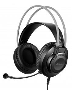 CASTI A4TECH cu fir, tip standard, utilizare multimedia (PC and