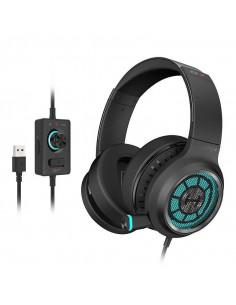 CASTI Edifier, cu fir, gaming, utilizare multimedia, microfon