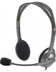 """CASTI Logitech, """"H111"""", cu fir, standard, utilizare multimedia"""