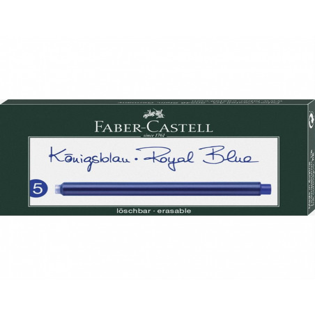 Patroane Cerneala Mari Faber-Castell 5 Buc/Cutie