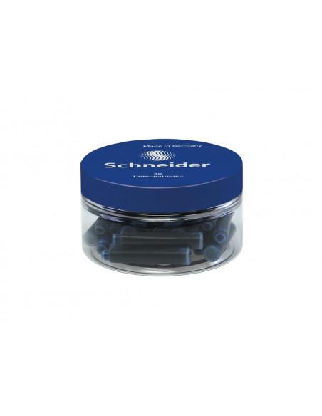 Patroane Cerneala Mici Schneider - Set 30 Buc/Borcan - Albastru