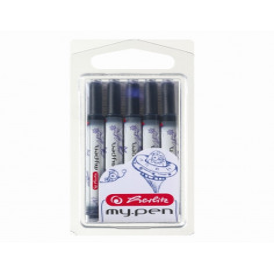 Patroane Universal My.Pen Set 5 Buc/Blister - Albastru