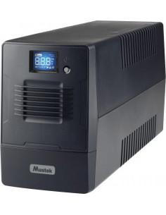 UPS MUSTEK Line Int. cu management, LCD, 600VA/ 360W, AVR, 2 x