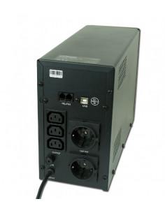 UPS GEMBIRD, Line Int. cu management, mini tower, 1500VA/900W