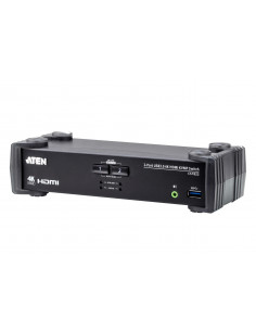"SWITCH KVM ATEN, 2-Port USB3.0 4K HDMI KVMP Switch ""CS1822-AT-G"""
