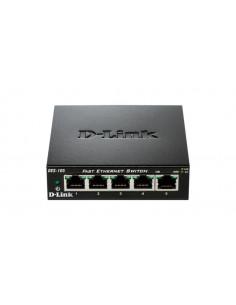 """SWITCH D-LINK 5 porturi 10/100Mbps. carcasa metalica, """"DES-105"""""""