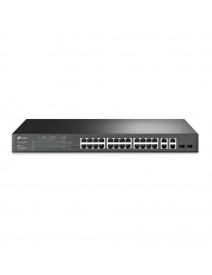 SWITCH SMART TP-Link 24 PORTURI POE+ 10/100M + 4 PORTURI