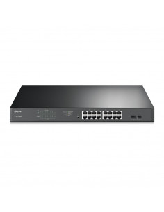 SWITCH TP-LINK 16 porturi Gigabit, 16 x POE 192W total power, 2