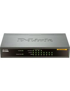 SWITCH PoE D-LINK 8 porturi 10/100Mbps (4 PoE), IEEE 802.3af