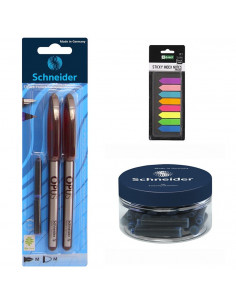 Set Stilou, Roller Maro, 30 Rezerve Schneider si Sticky Index Notes