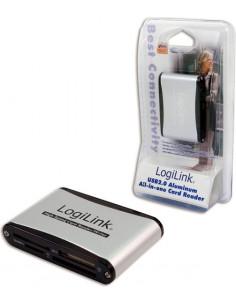 CARD READER extern LOGILINK, interfata USB 2.0, citeste/scrie: