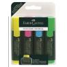 Textmarker 1548 Faber-Castell - Set 4 culori