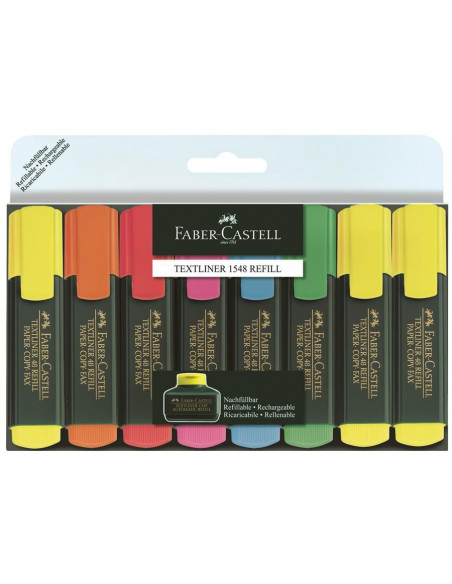 Textmarker 1548 Faber-Castell - Set 8 culori