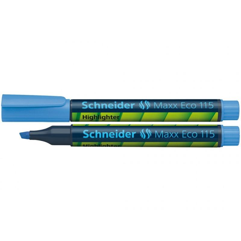 Textmarker Schneider Maxx Eco 115 - Albastru