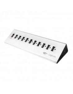 HUB extern LOGILINK, porturi USB: USB 2.0 x 10, Fast Charging