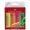 Textmarker Superfluorescent 1546 Faber-Castell - Set 4 Culori