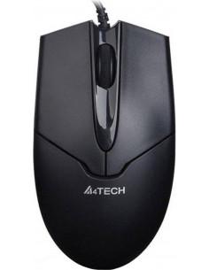MOUSE A4TECH, notebook, PC, cu fir, optic, USB, 1000 dpi, 3/1