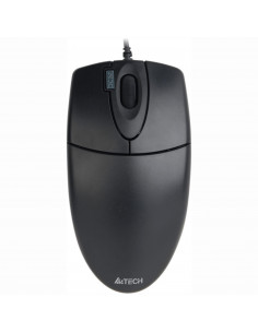 MOUSE A4TECH, notebook, PC, cu fir, optic, USB, 1000 dpi, 4/1