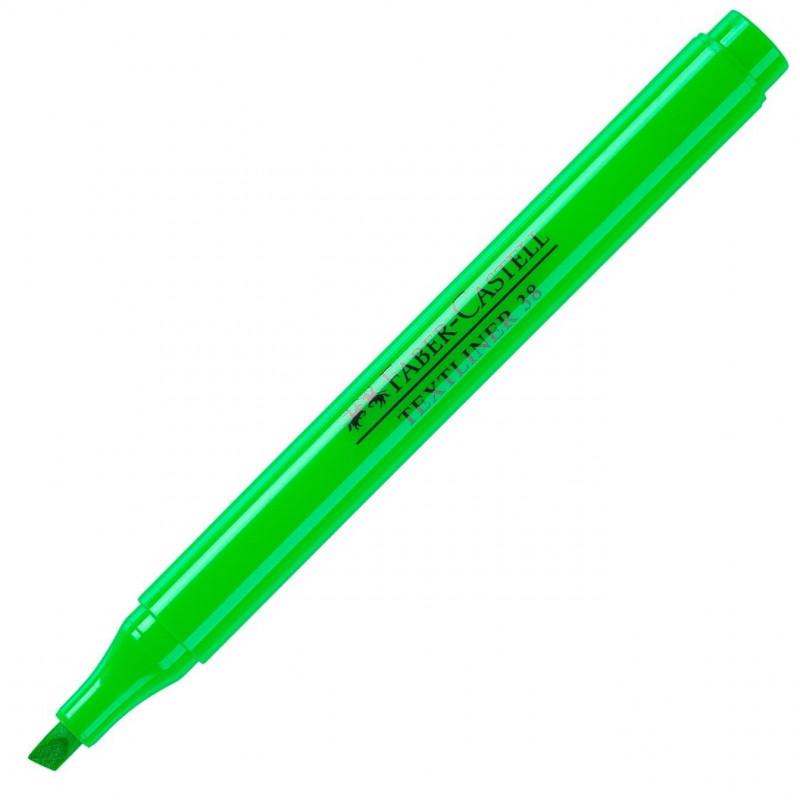 Textmarker 38 Faber-Castell - Verde