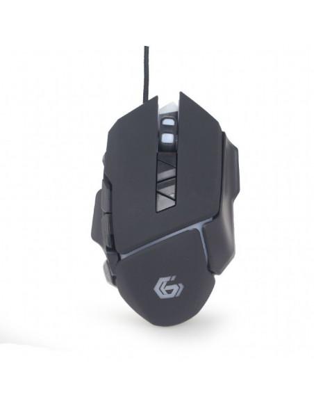 MOUSE GEMBIRD - gaming, cu fir, optic, USB, 4000 dpi, 7/1