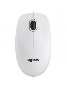"""MOUSE LOGITECH, """"B100"""" notebook, PC, cu fir, optic, USB, 800"""