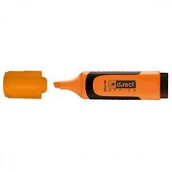 Textmarker D.Rect Cu Grip - Orange