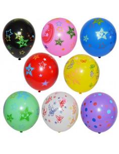 Baloane cu desene, 100 buc/set