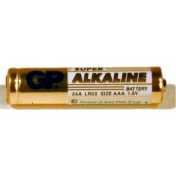 BATERIE GP BATTERIES AAA (R3), 1.5V alcalina, 4 buc.