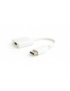 CABLU video GEMBIRD, adaptor DisplayPort (T) la HDMI (M), 10cm