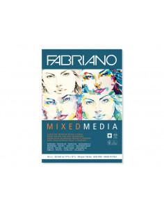 Bloc desen Mix Media, A3, fără spiră, Fabriano