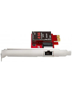 ASUS 2.5GBase-T PCIe Network Adapter PCE-C2500 with backward