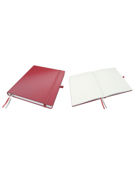 Caiet de birou LEITZ Complete, A4, dictando, rosu