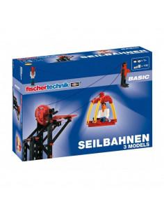 Set Constructie Fischertechnik Advanced Cable Railway 3 Modele